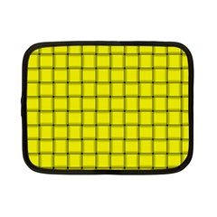 Yellow Weave Netbook Case (small) by BestCustomGiftsForYou