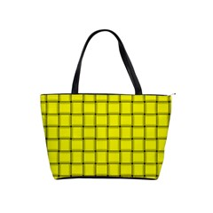Yellow Weave Large Shoulder Bag by BestCustomGiftsForYou