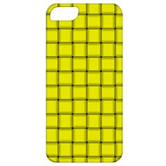Yellow Weave Apple Iphone 5 Classic Hardshell Case by BestCustomGiftsForYou