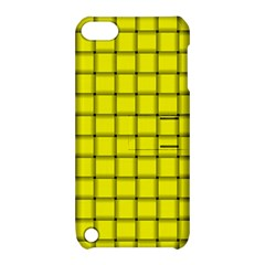 Yellow Weave Apple Ipod Touch 5 Hardshell Case With Stand by BestCustomGiftsForYou