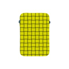 Yellow Weave Apple Ipad Mini Protective Soft Case by BestCustomGiftsForYou