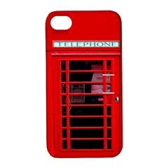 Phone Booth Apple Iphone 4/4s Hardshell Case With Stand by CreativeZone
