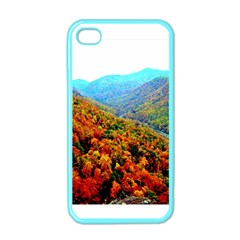 Through The Mountains Apple Iphone 4 Case (color) by Majesticmountain