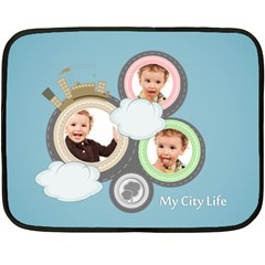 Kids By Anita   Double Sided Fleece Blanket (mini)   1hx9lpmxamgb   Www Artscow Com 35 x27  Blanket Front