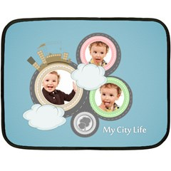 Kids By Anita   Double Sided Fleece Blanket (mini)   1hx9lpmxamgb   Www Artscow Com 35 x27  Blanket Back