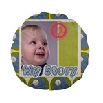 baby - Standard 15  Premium Round Cushion