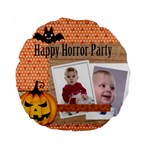 helloween - 15  Premium Round Cushion
