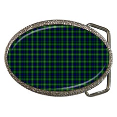 Lamont Tartan Belt Buckle (oval)