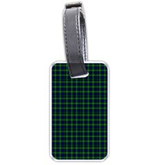 Lamont Tartan Luggage Tag (one Side) by BestCustomGiftsForYou