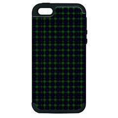Lamont Tartan Apple Iphone 5 Hardshell Case (pc+silicone) by BestCustomGiftsForYou