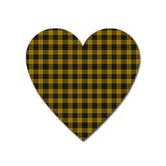Macleod Tartan Magnet (heart) by BestCustomGiftsForYou
