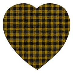 Macleod Tartan Jigsaw Puzzle (heart)