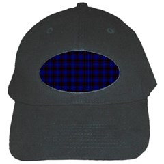 Homes Tartan Black Baseball Cap by BestCustomGiftsForYou