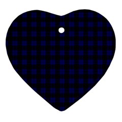 Homes Tartan Heart Ornament by BestCustomGiftsForYou