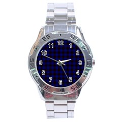 Homes Tartan Stainless Steel Watch (men s) by BestCustomGiftsForYou