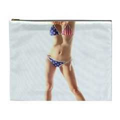 Usa Girl Cosmetic Bag (xl) by hlehnerer