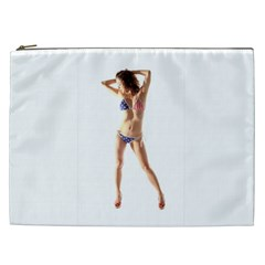 Usa Girl Cosmetic Bag (xxl) by hlehnerer