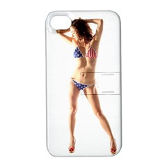 Usa Girl Apple Iphone 4/4s Hardshell Case With Stand by hlehnerer
