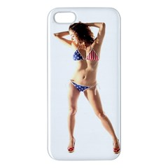 Usa Girl Iphone 5 Premium Hardshell Case by hlehnerer