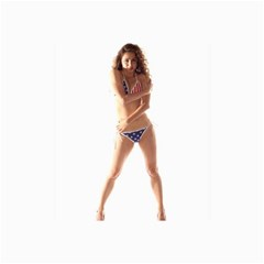Usa Girl Canvas 24  X 36  (unframed) by hlehnerer