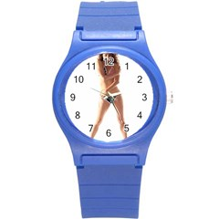 Usa Girl Plastic Sport Watch (small) by hlehnerer