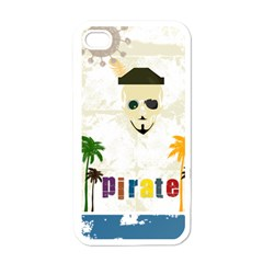 Pirate Party Apple Iphone 4 Case (white) by awesomesauceshop