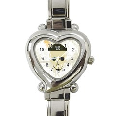 P1234 Heart Italian Charm Watch