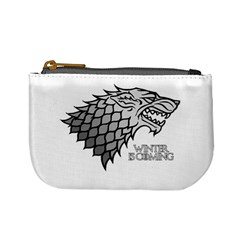 Winter is Coming ( Stark ) 2 Coin Change Purse by Lab80