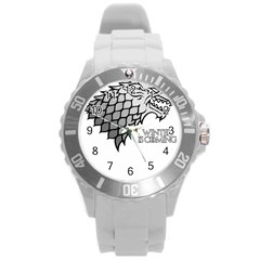 Winter is Coming ( Stark ) 2 Plastic Sport Watch (Large) by Lab80