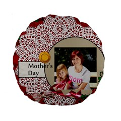 Mom By Jacob   Standard 15  Premium Round Cushion    S9jolzeqx53w   Www Artscow Com Back