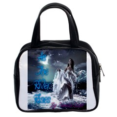 As The River Rises  Classic Handbag (two Sides)