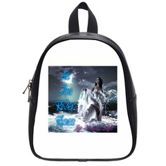 As The River Rises  School Bag (small)