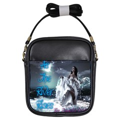 As The River Rises  Girl s Sling Bag