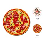 pizza - Playing Cards (Round)
