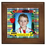 Kindergarten Framed Tile