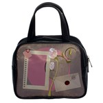 Love letters and roses handbag - Classic Handbag (Two Sides)