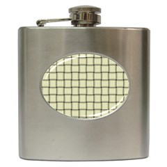Cream Weave Hip Flask by BestCustomGiftsForYou