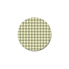 Cream Weave Golf Ball Marker by BestCustomGiftsForYou