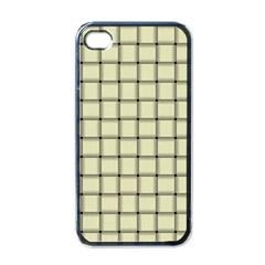 Cream Weave Apple Iphone 4 Case (black) by BestCustomGiftsForYou