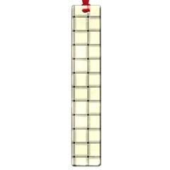Cream Weave Large Bookmark by BestCustomGiftsForYou