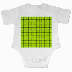 Fluorescent Yellow Weave Infant Creeper