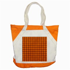 Orange Weave Accent Tote Bag by BestCustomGiftsForYou