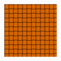 Orange Weave Glasses Cloth (medium, Two Sided) by BestCustomGiftsForYou