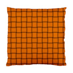 Orange Weave Cushion Case (two Sides) by BestCustomGiftsForYou