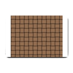 Cafe Au Lait Weave Small Door Mat by BestCustomGiftsForYou