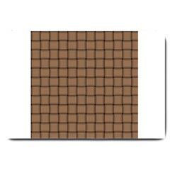 Cafe Au Lait Weave Large Door Mat by BestCustomGiftsForYou