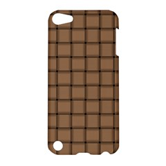 Cafe Au Lait Weave Apple Ipod Touch 5 Hardshell Case by BestCustomGiftsForYou