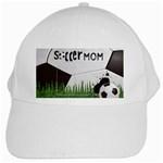 soccer mom- white cap