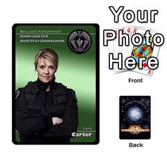 Stargate Resistance By Ajax   Playing Cards 54 Designs   Hwqhvctv54xd   Www Artscow Com Front - Spade2