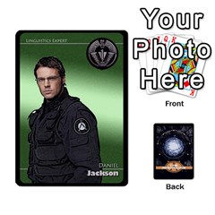 Stargate Resistance By Ajax   Playing Cards 54 Designs   Hwqhvctv54xd   Www Artscow Com Front - Spade3
